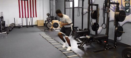 Speed: Left Lateral Shuffle [VIDEO]