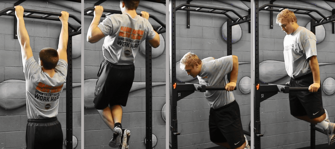 Old School Exercises – Pullups and Dips